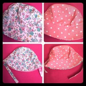 ONLY 1! Carter's Baby Reversible Sun Hat